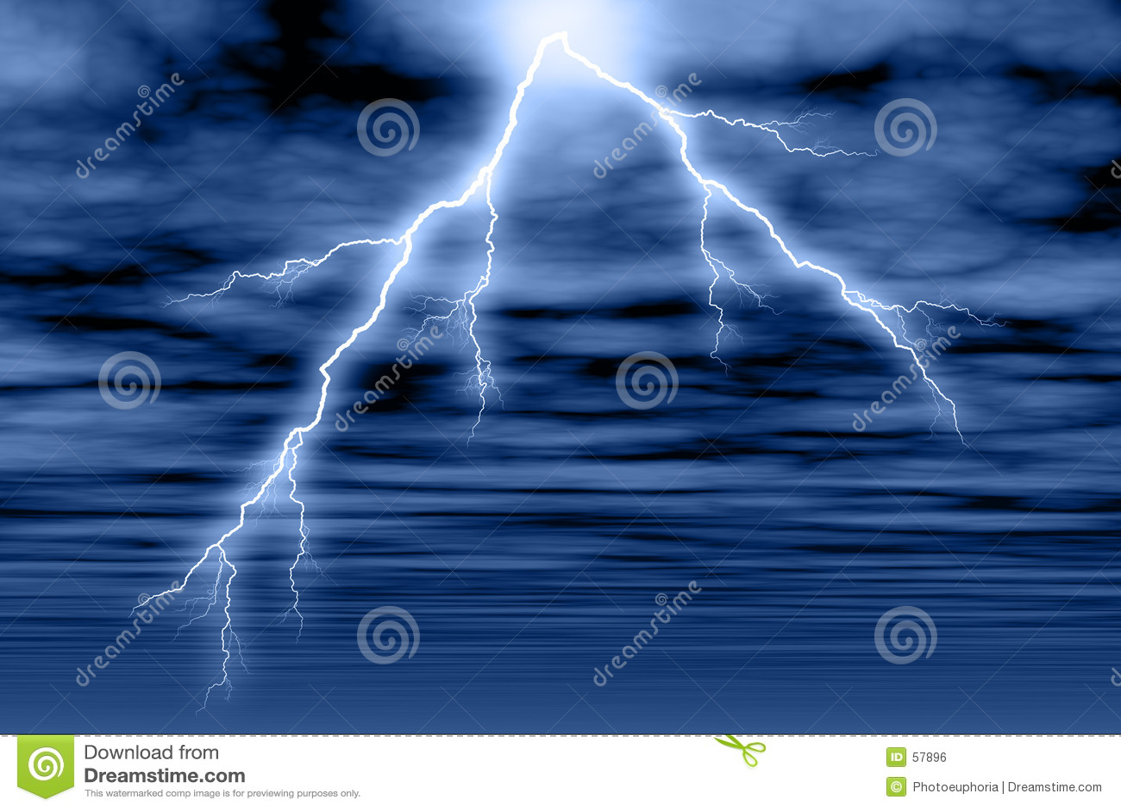 Cloud blixtstormen