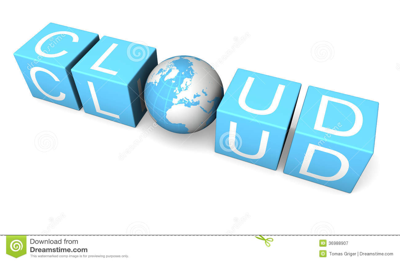 Cloud Computing Royalty Free Stock Photography - Image ...