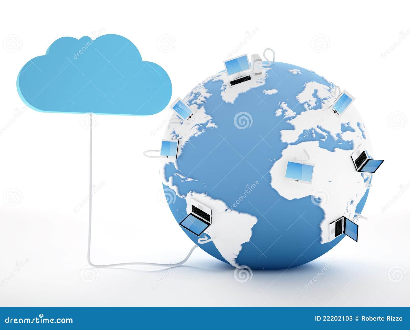 Cloud Computing Concept Stock Photos - Image: 22202103