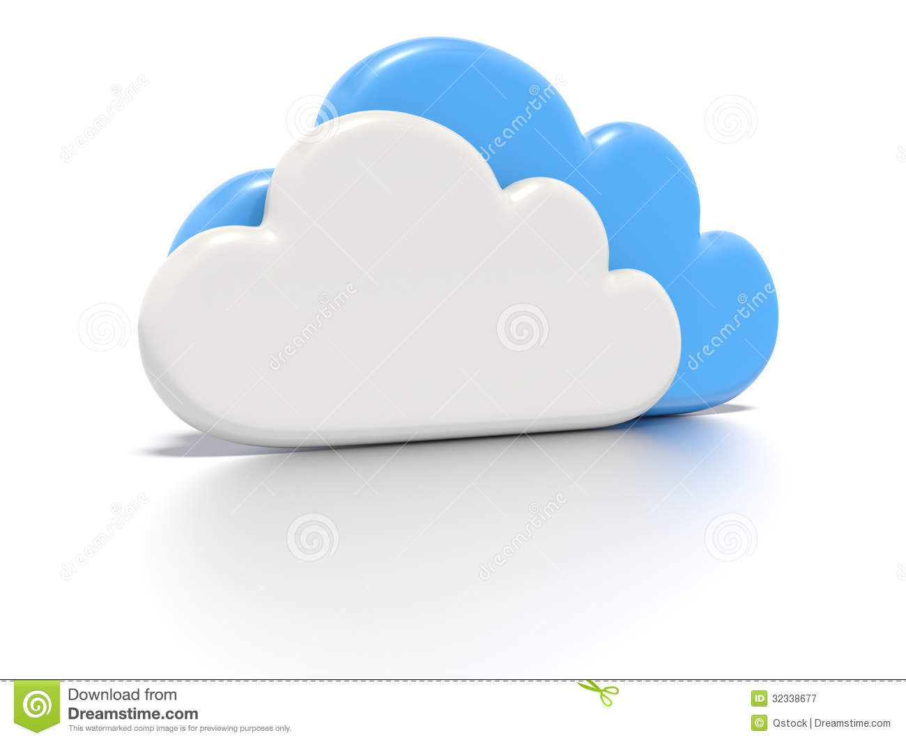 Cloud Computing Concept. Royalty Free Stock Photography - Image ...