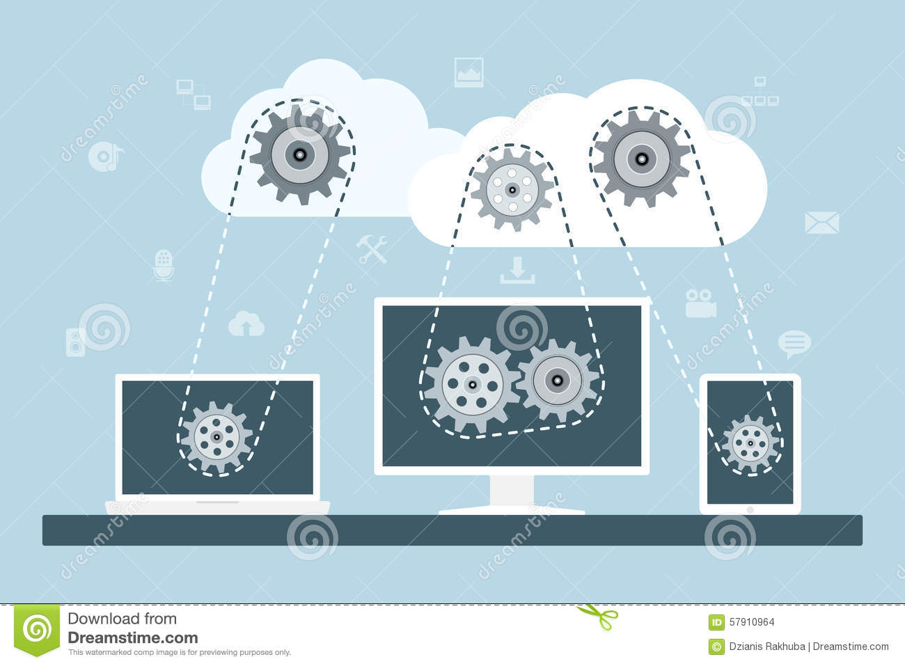 Security in Data Storage and Transmission in Cloud Computing
