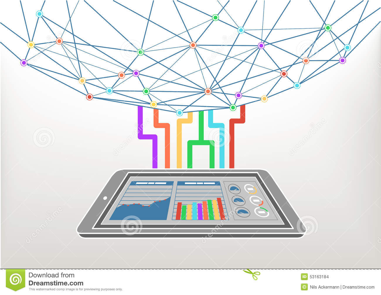 Information Technology Background Vector | www.pixshark ...