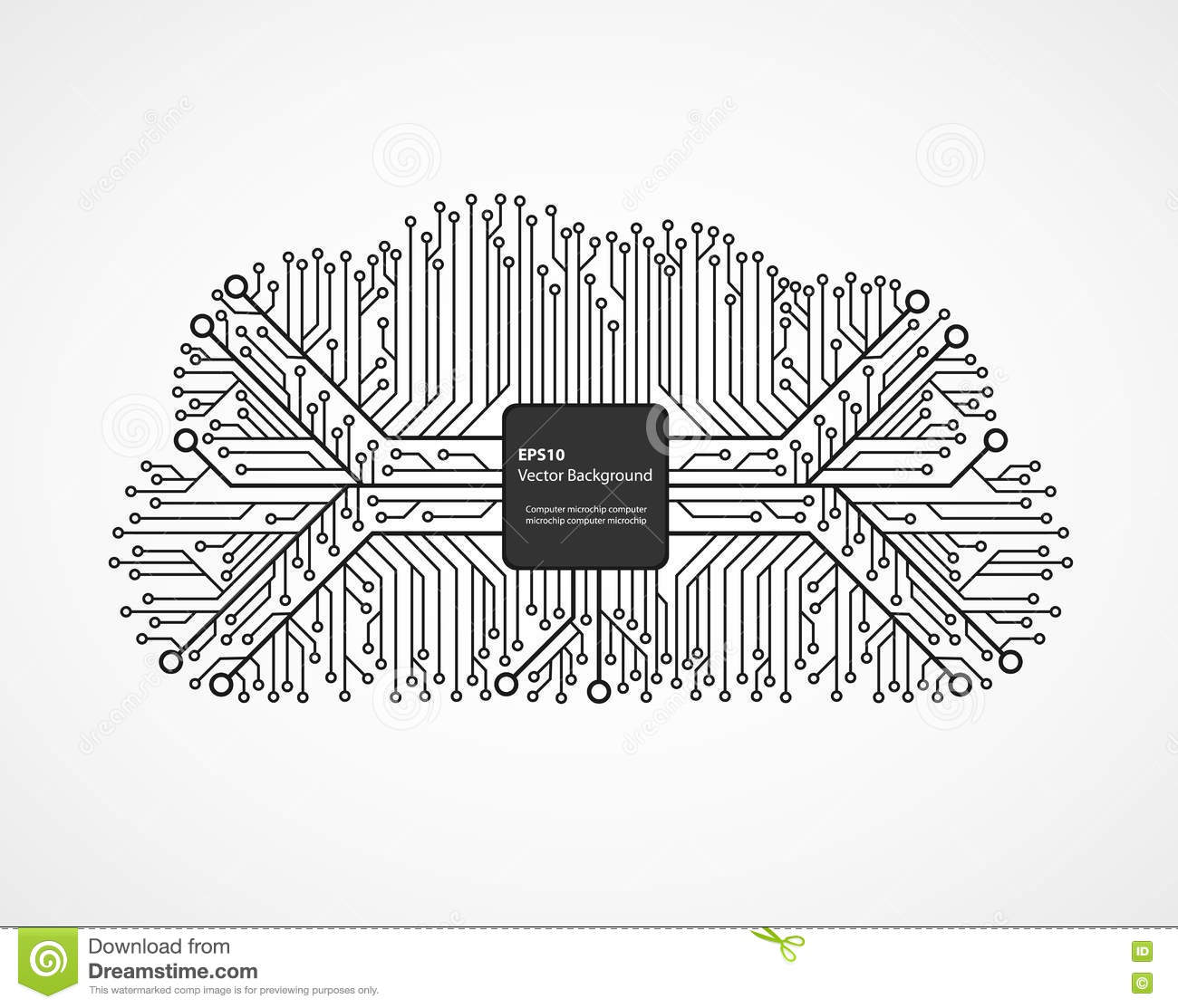 cloud computing technology in an electronic circuit chip design rh dreamstime com