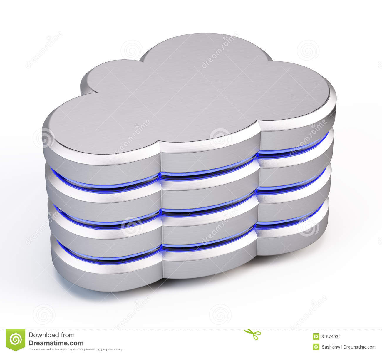 Cloud Database Icon Royalty Free Stock Images - Image: 31974939: www.dreamstime.com/royalty-free-stock-images-cloud-database-icon-d...