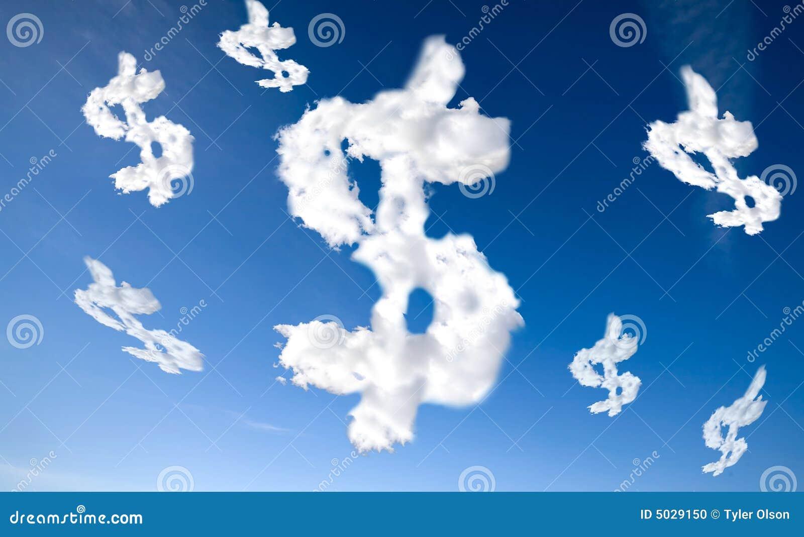 Cloud Dollar Sign