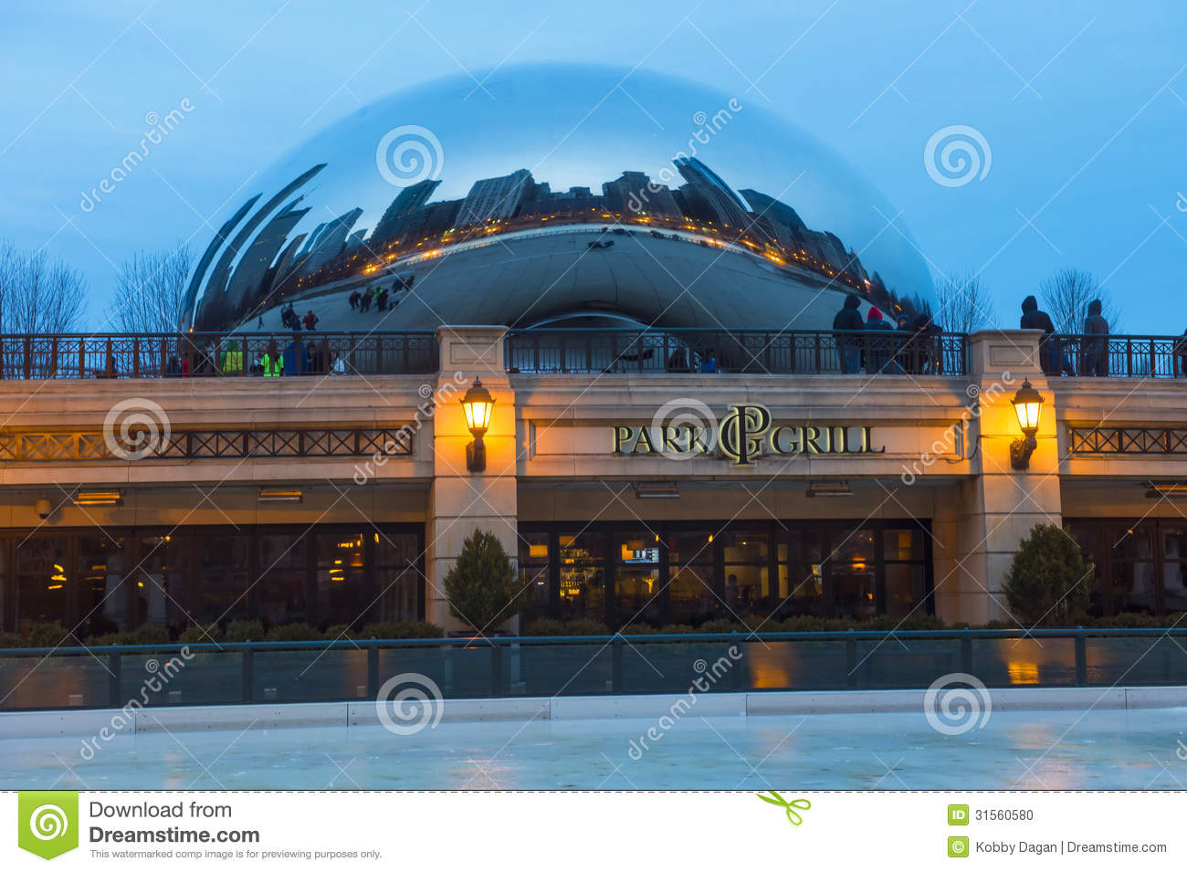 Cloud Gate Editorial Image Image 31560580