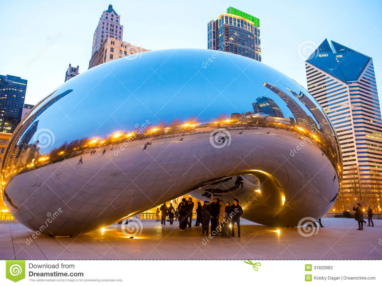 Cloud Gate Editorial Stock Photo Image 31820983