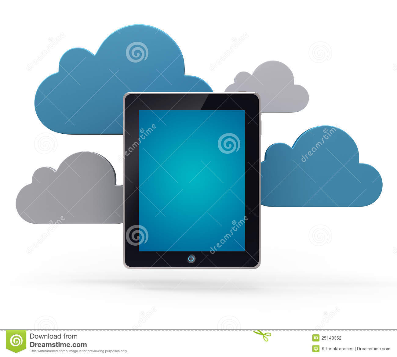 Cloud network and the tablet pc