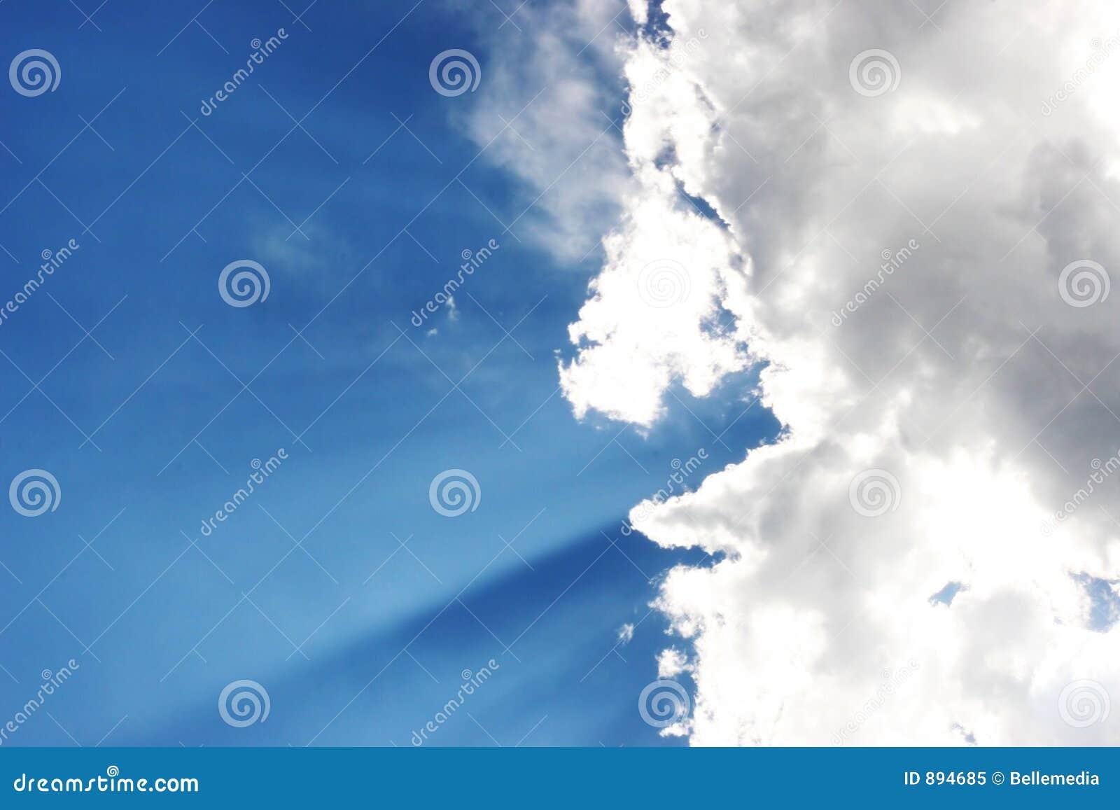Cloud słońce