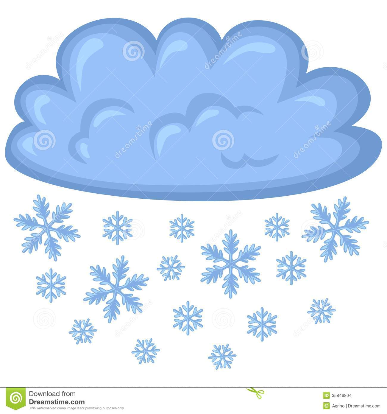 Cloud Of Snow Stock Images - Image: 35846804