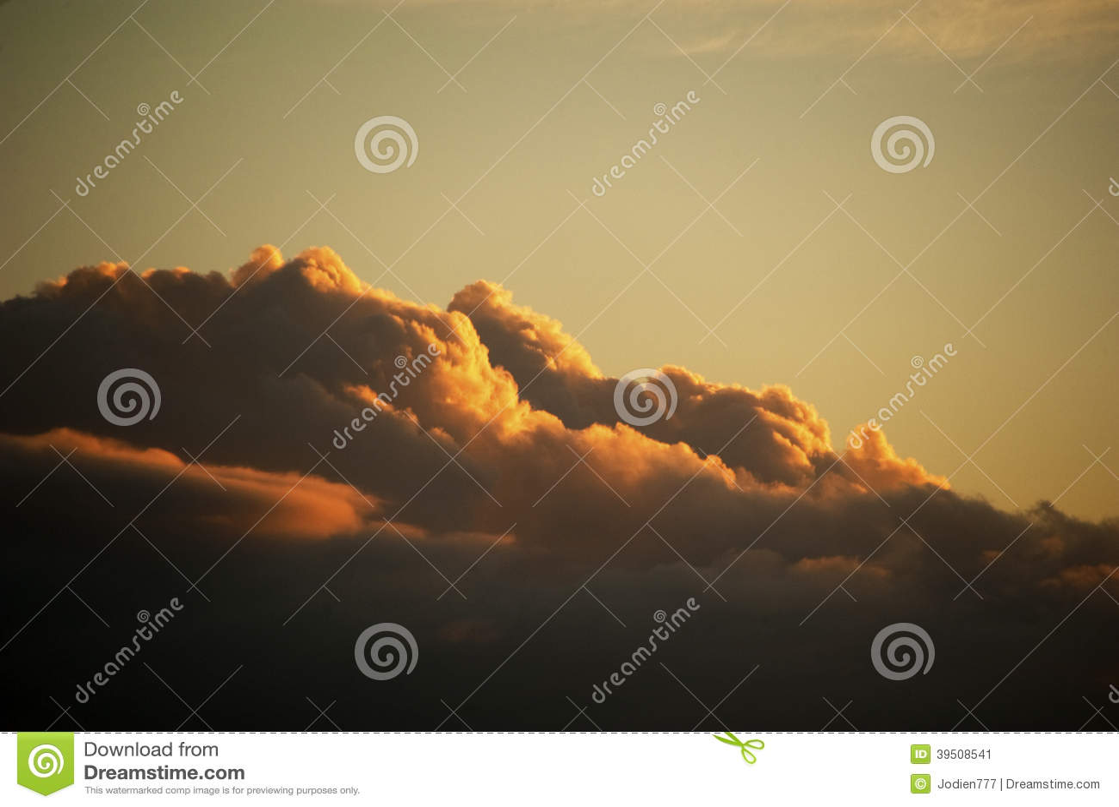 Cloud at sunrise