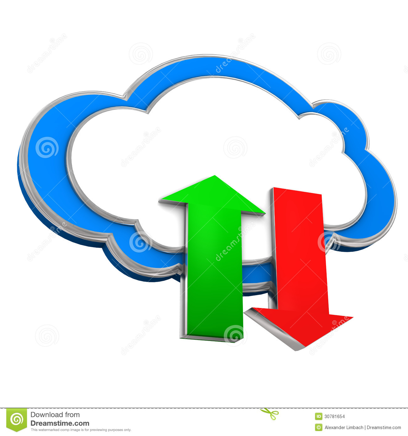 download to cloud