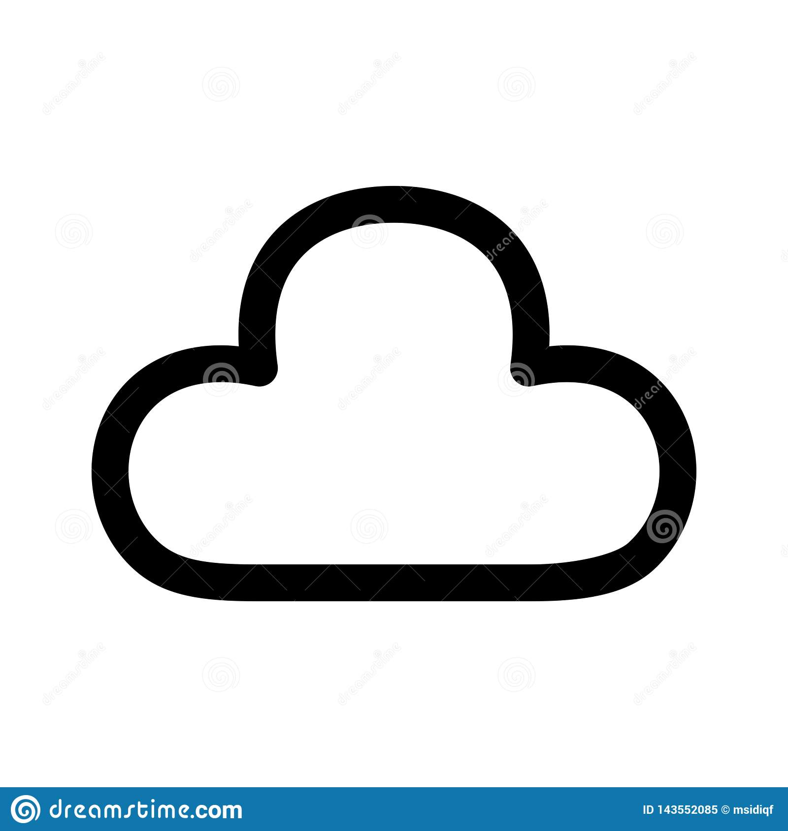 Cloud Web Icon - msidiqf