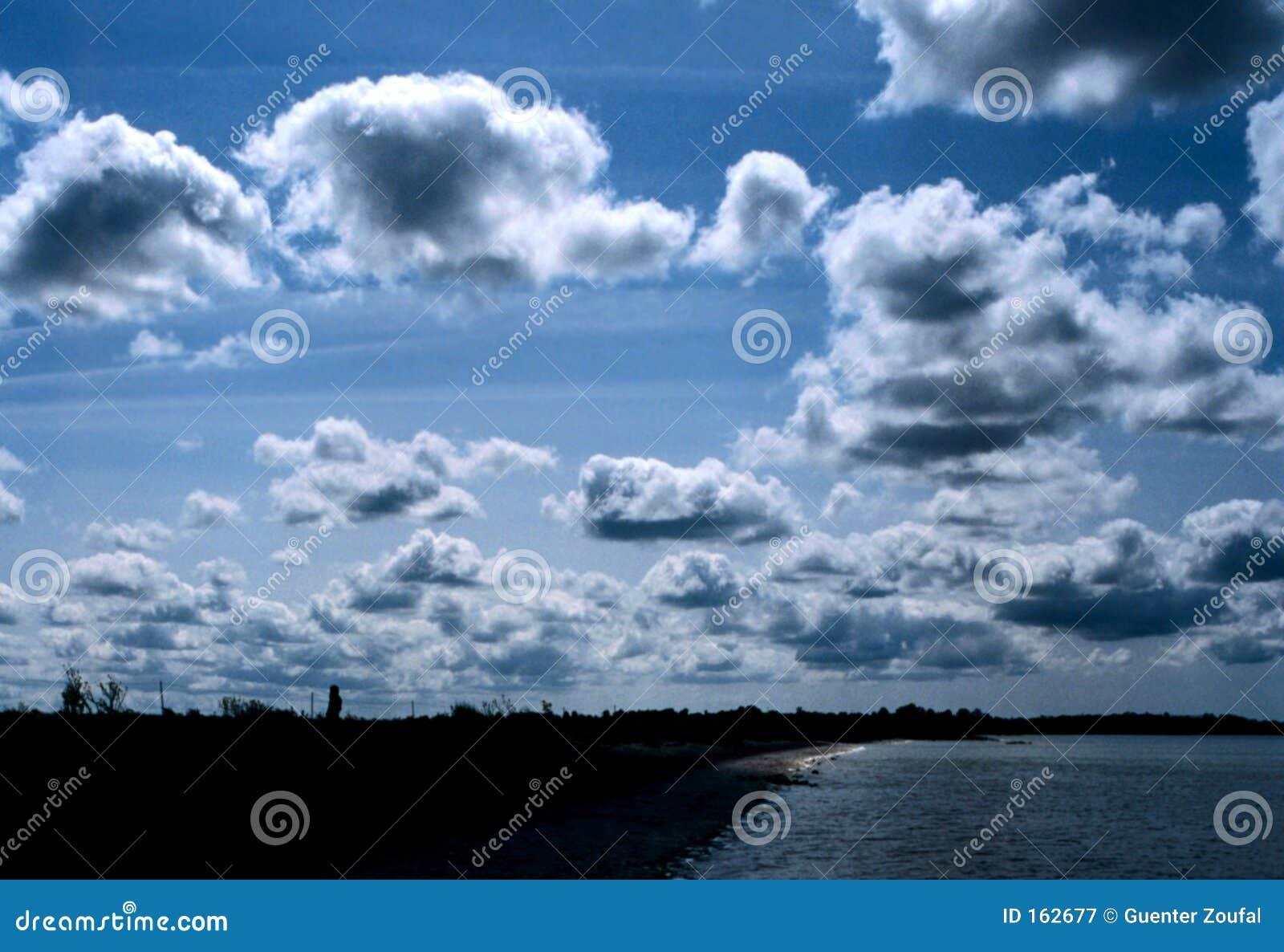 Clouded Irish Sky