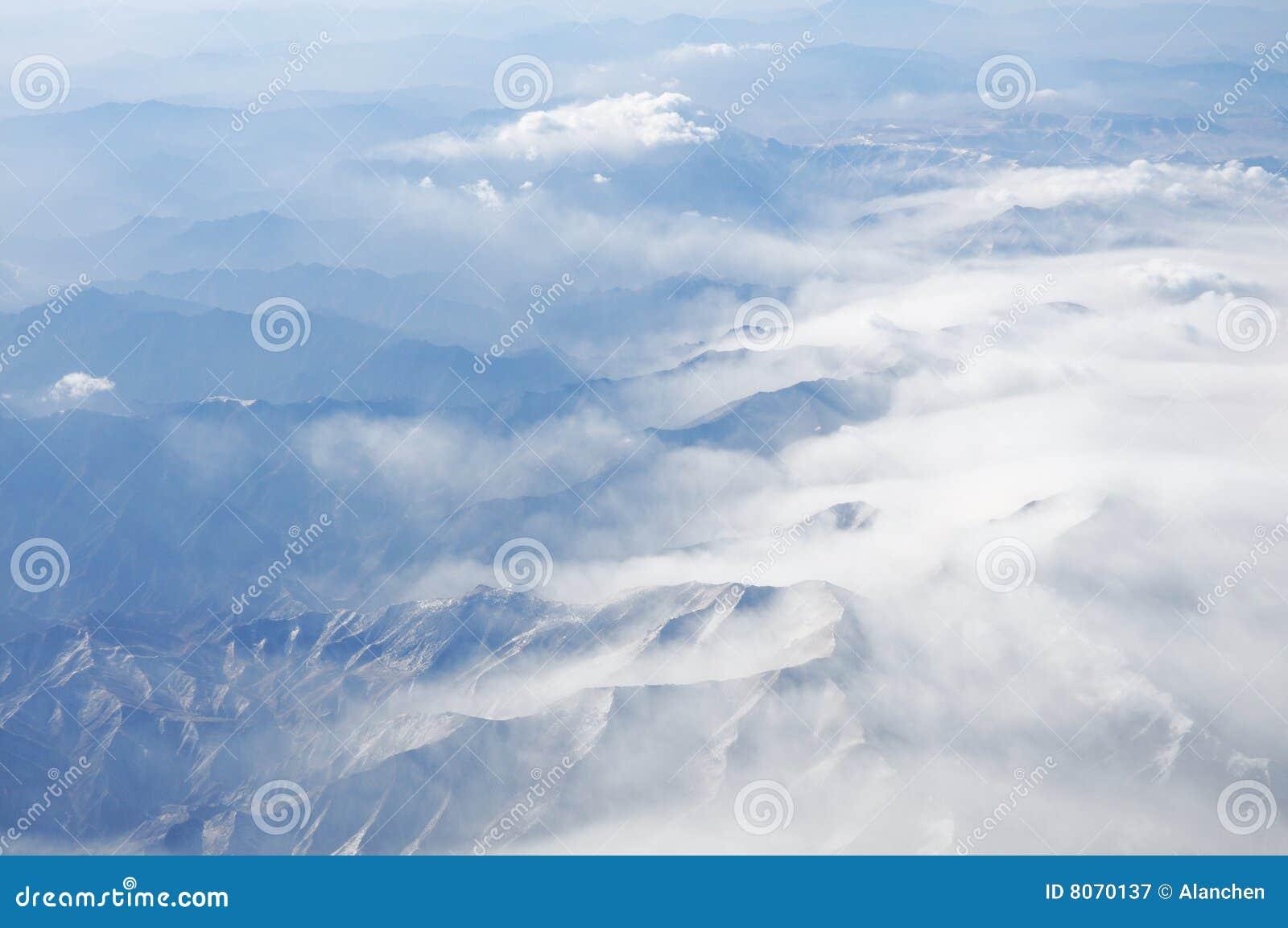 Clouds berg
