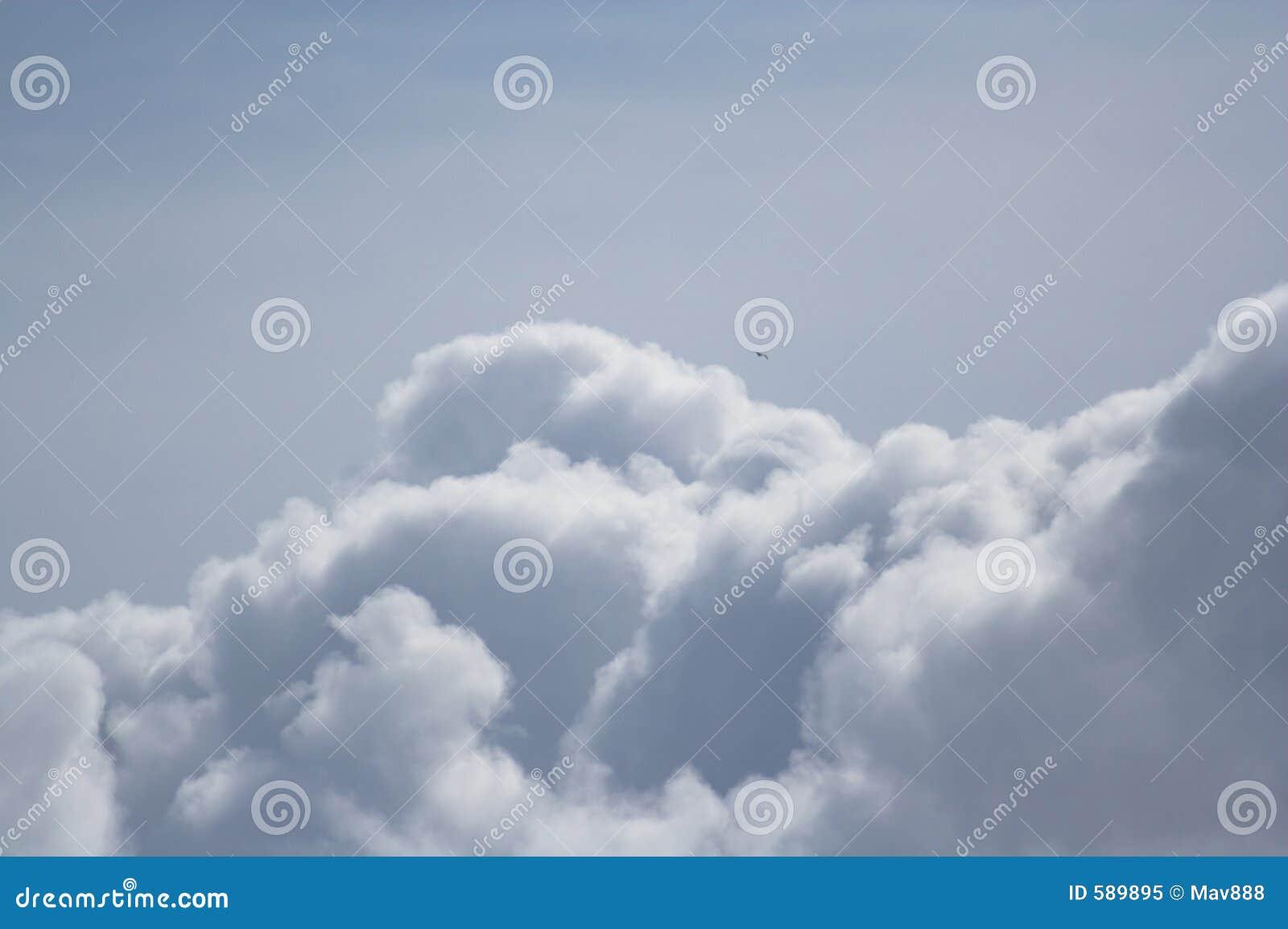 Clouds drömlikt