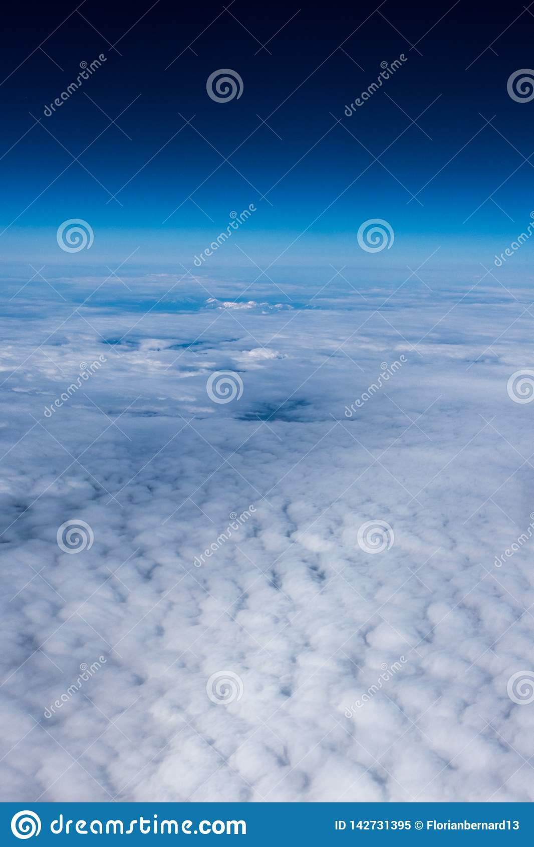 Clouds and the edge of space
