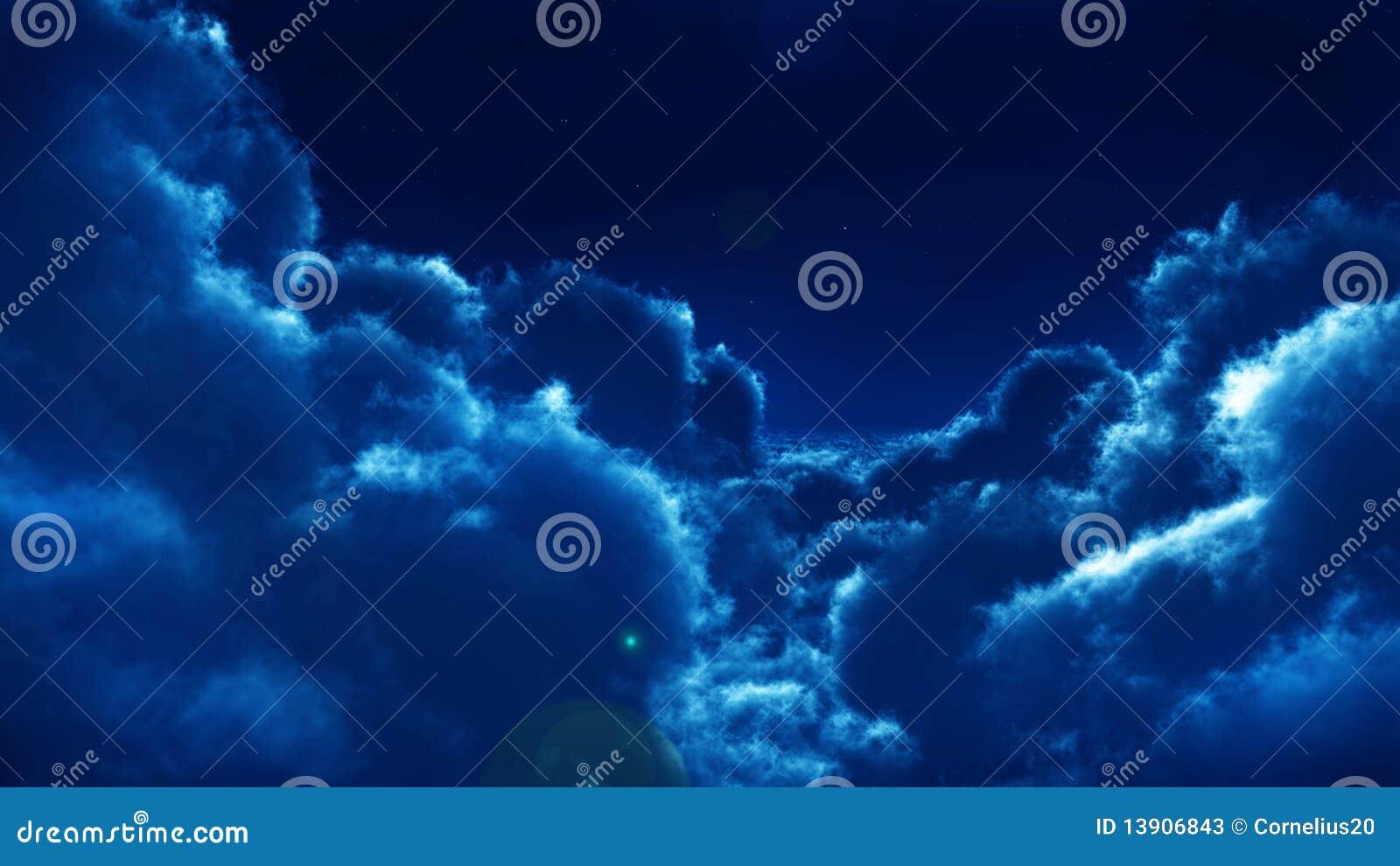 Clouds natt
