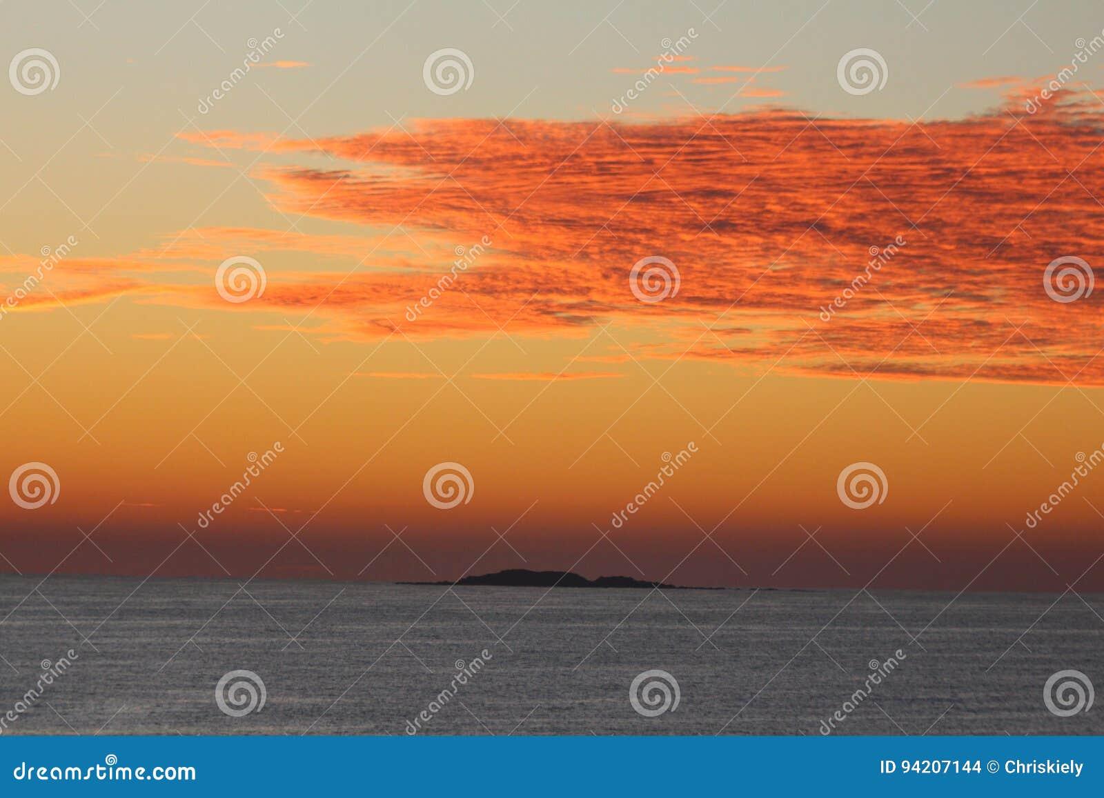 Clouds orangen