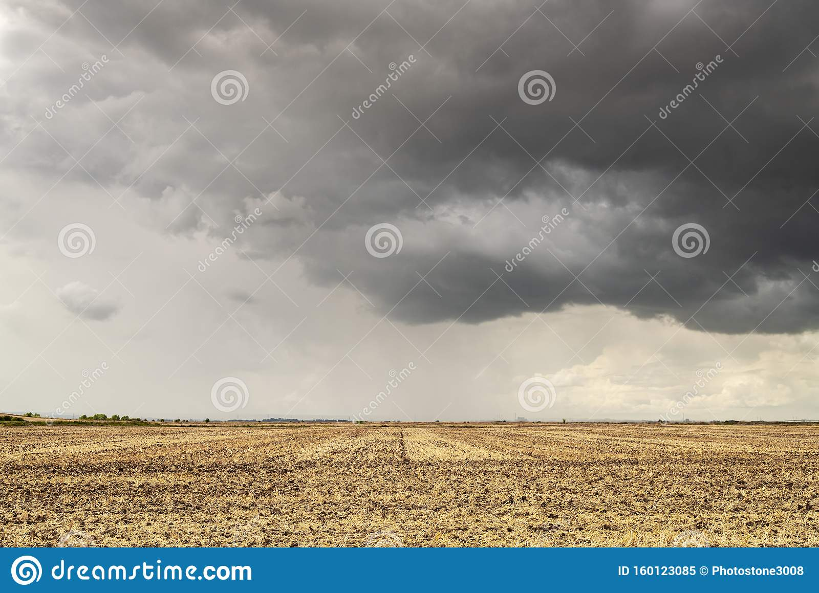 Clouds and Stubble