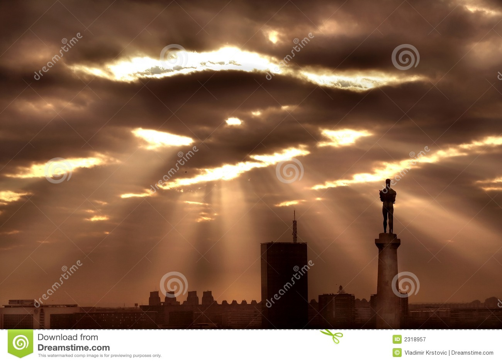 Clouds sun