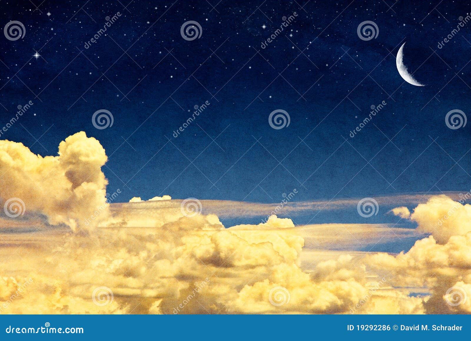 Cloudscape e lua