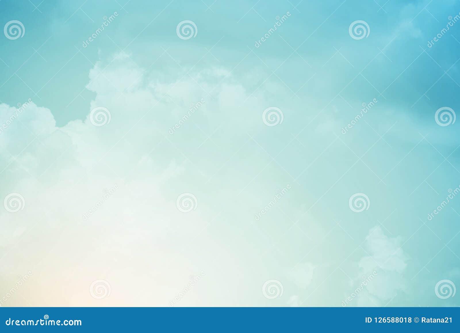 f49cb0e1f7 Cloudscape With Pastel Gradient Color