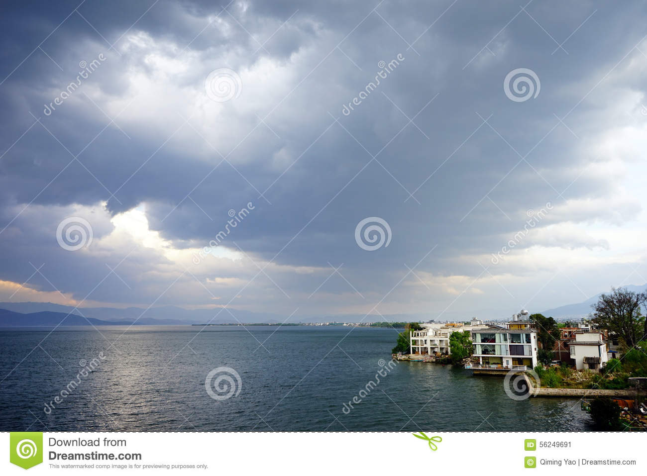 Cloudy Day Stock Photo - Image: 56249691
