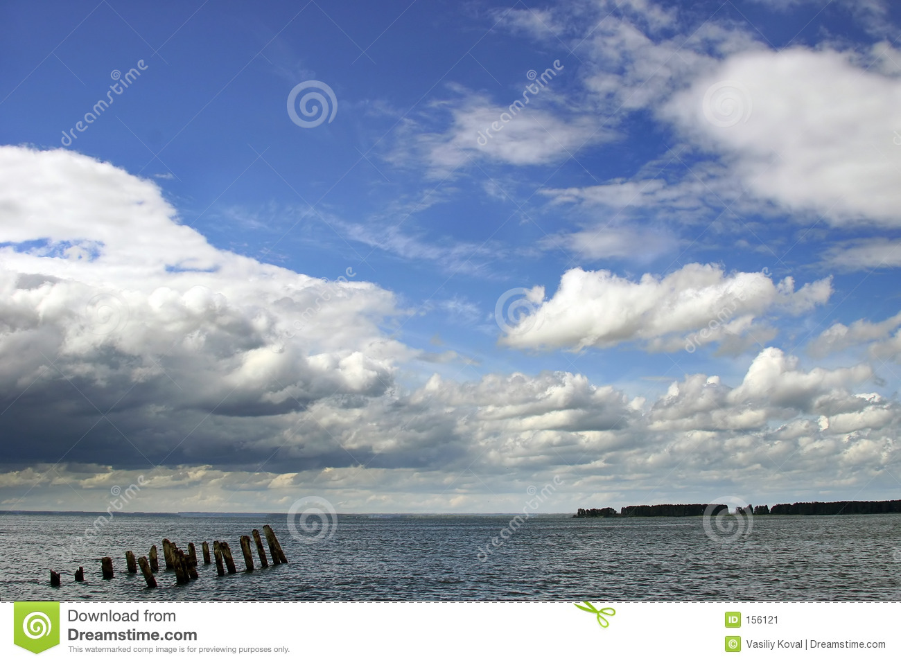 Download Cloudy landscape stock image. Image of wave, dramatic, landscape - 156121