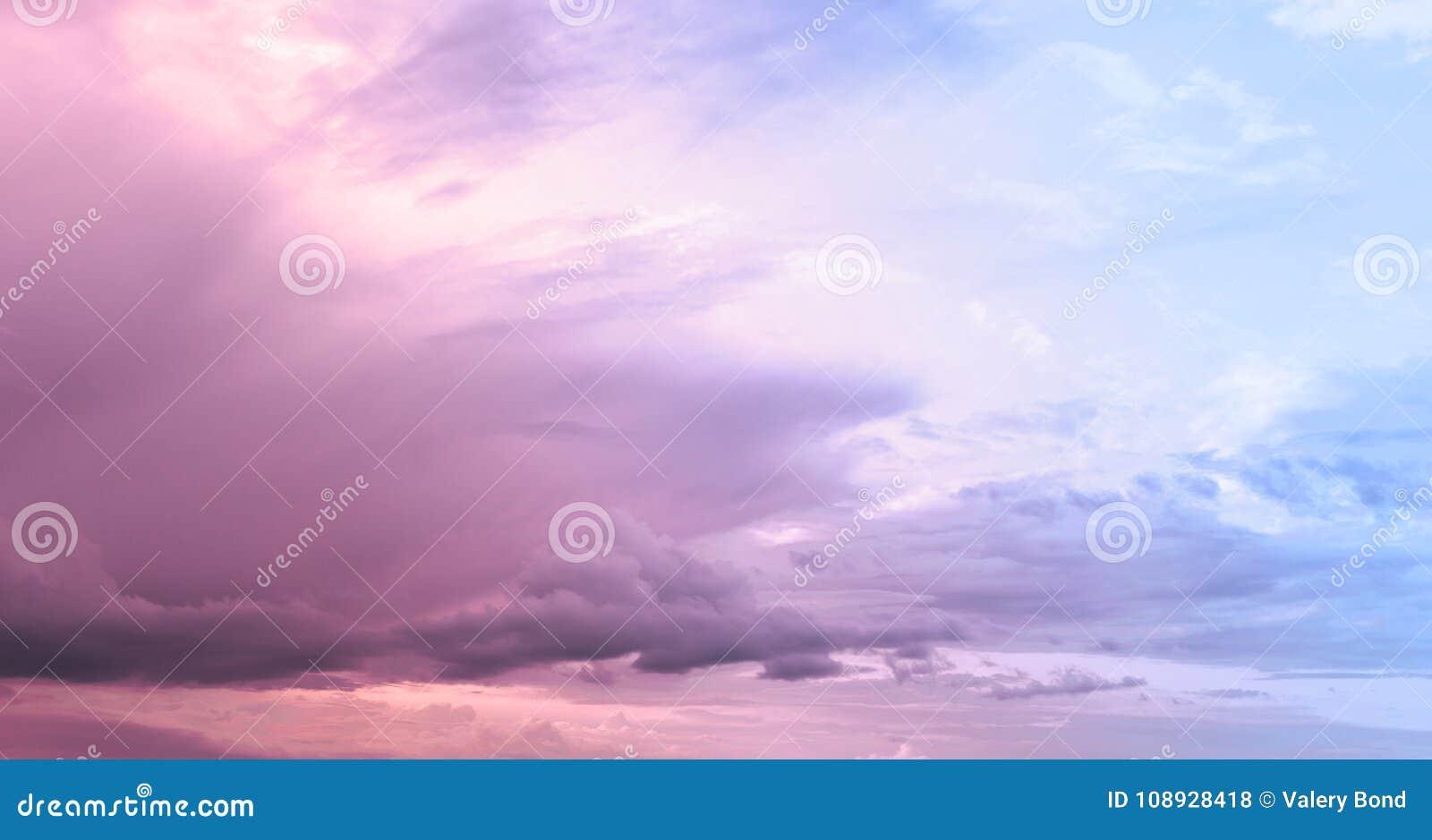 Cloudy Pink Sky