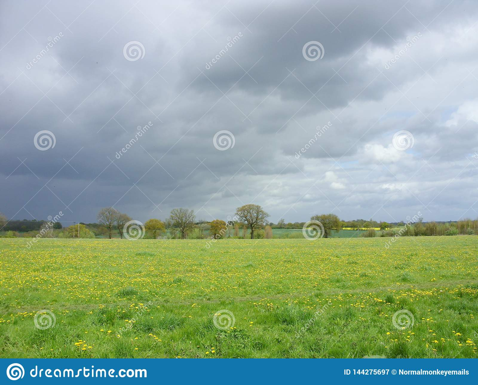 Stormy skies - bad weather a-coming