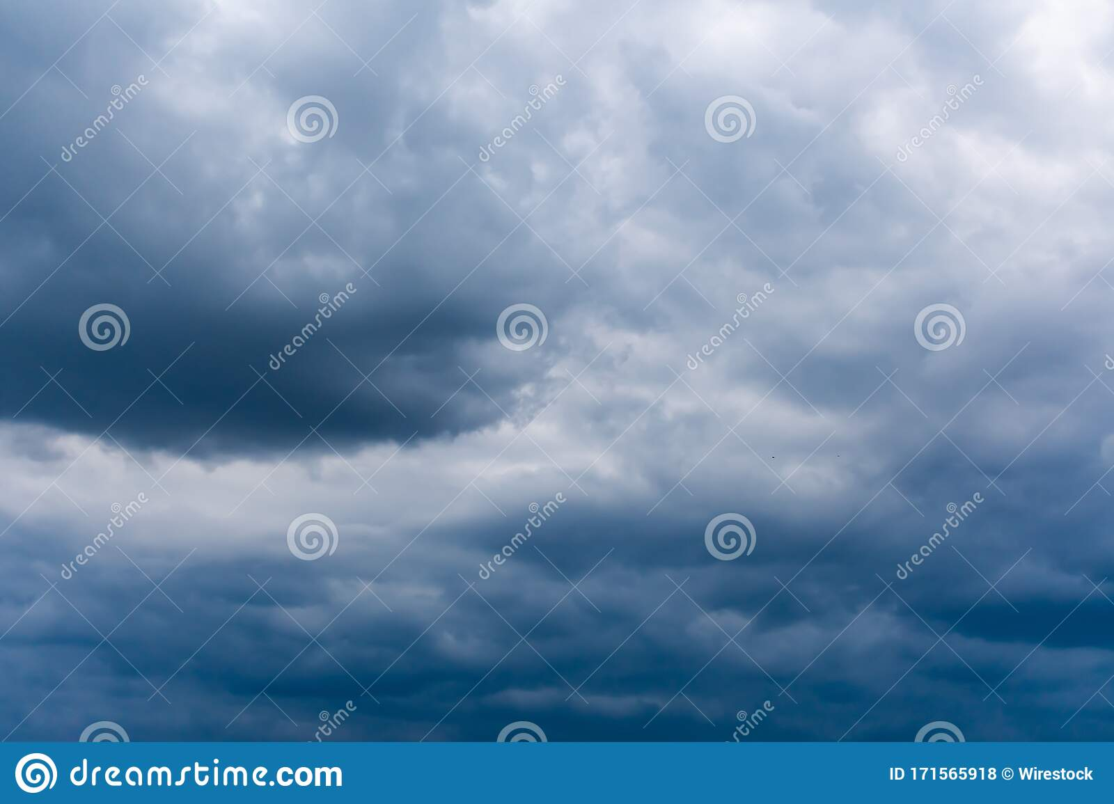 Cloudy Sky During Daytime A Cool Picture For Backgrounds And Wallpapers Stock Photo Image Of Gray Cloudscape 171565918