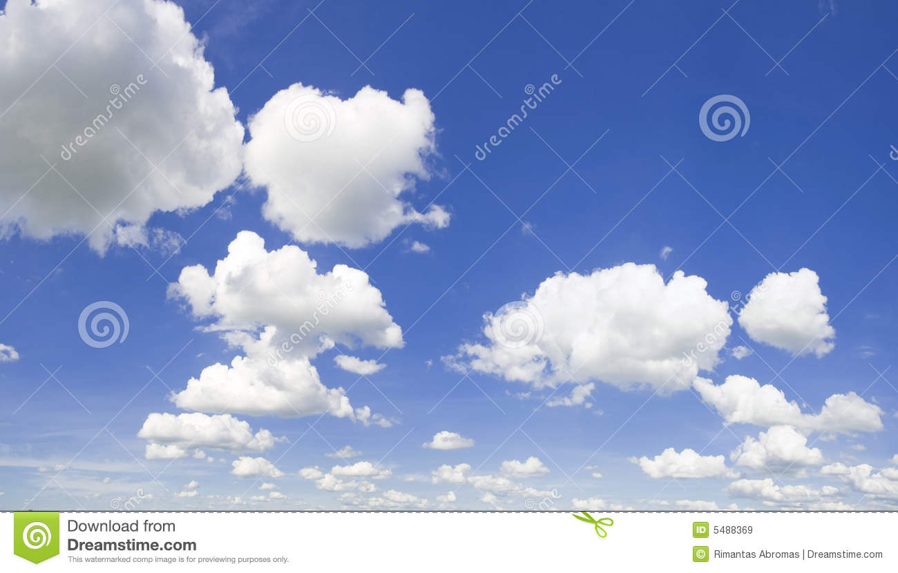 Cloudy Sky Panorama Royalty Free Stock Images - Image: 5488369