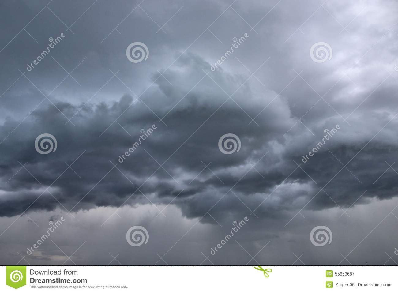 c370d4481 Cloudy sky stock image. Image of moody, background, thunderstorm ...