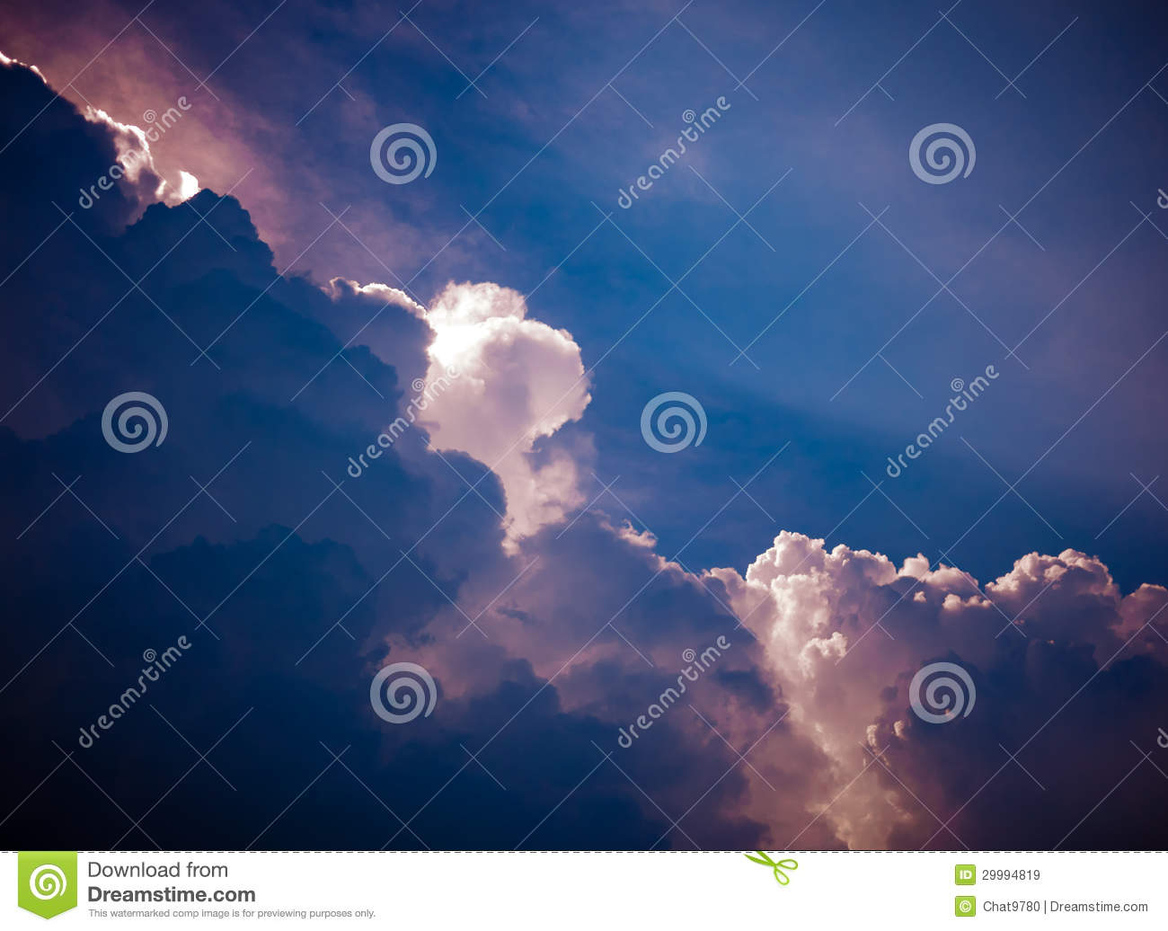 Fotos De Stock Chat9780: Dramatic Cloudy Sky Royalty Free Stock Images