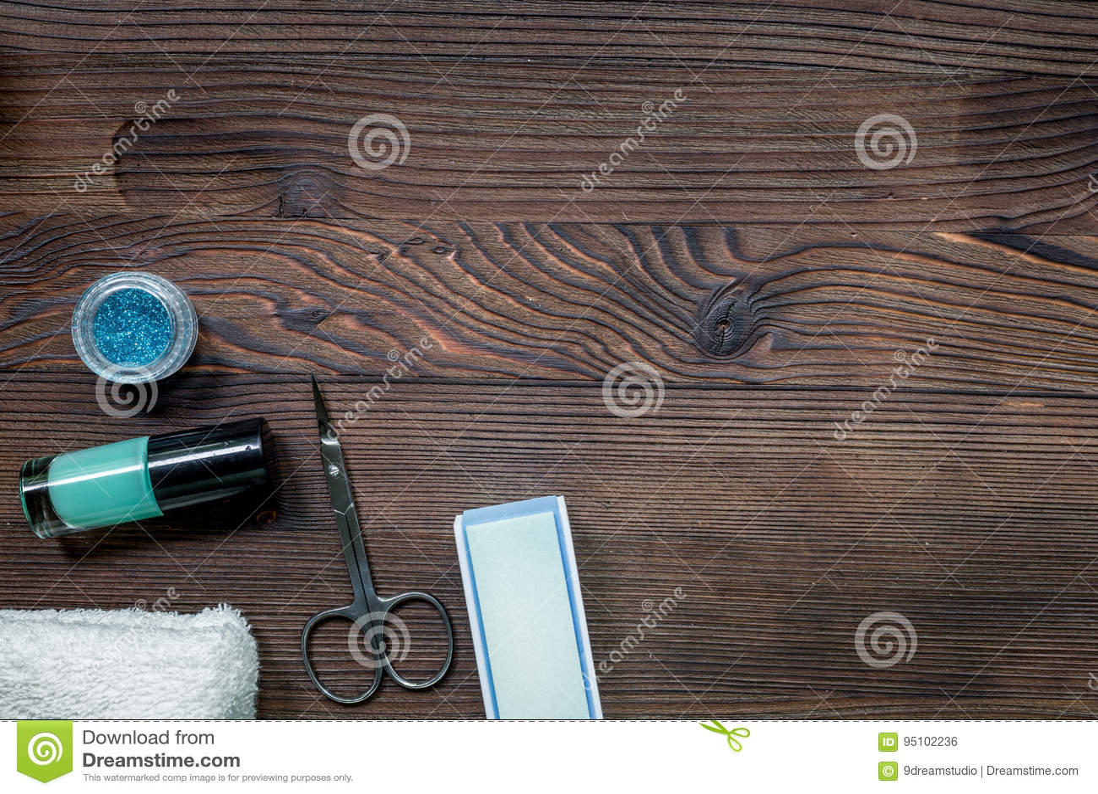 Honorable table manucure avec lumineux bureau pour nail salon