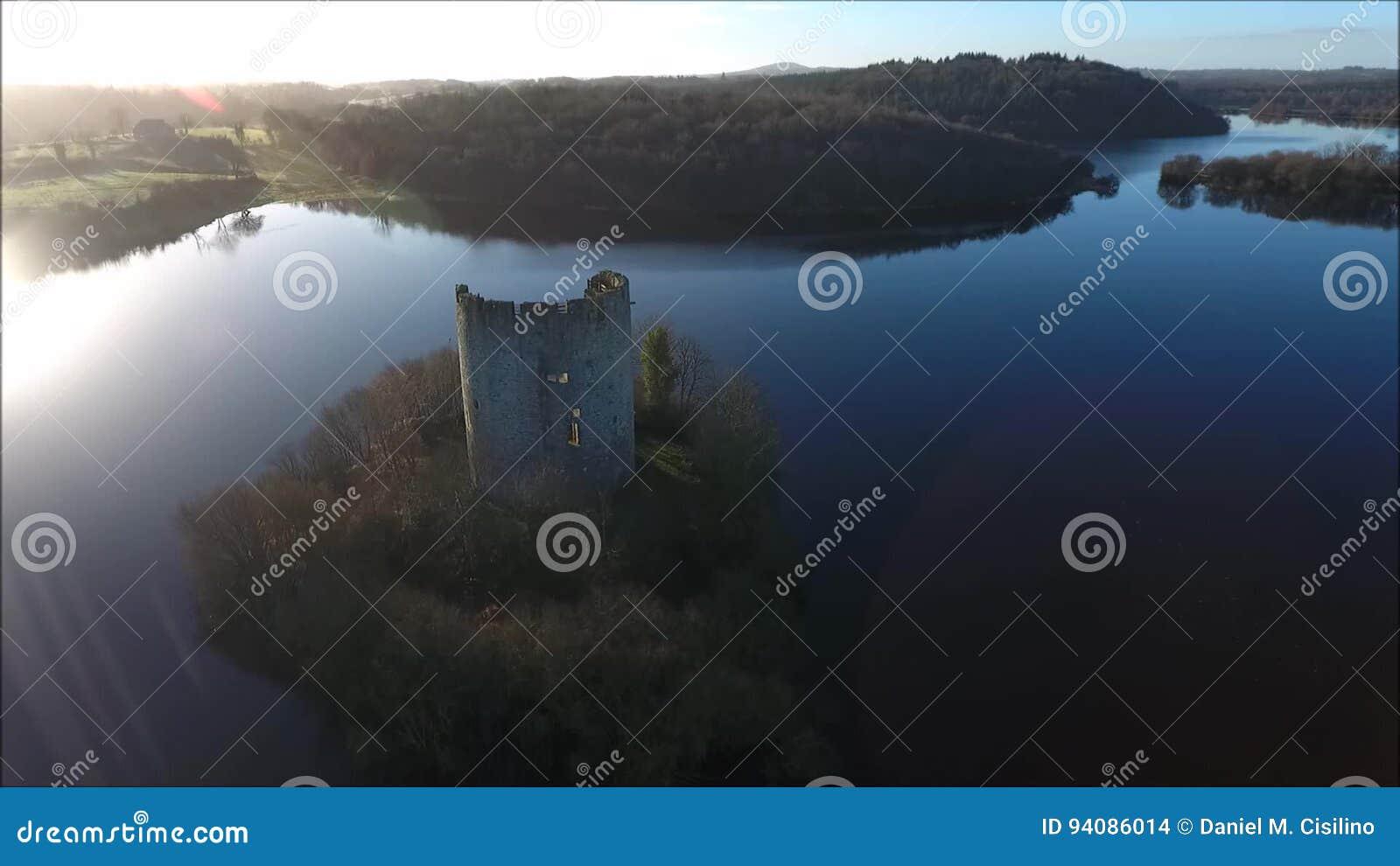 CloughOughter slott Cavan ireland lager videofilmer
