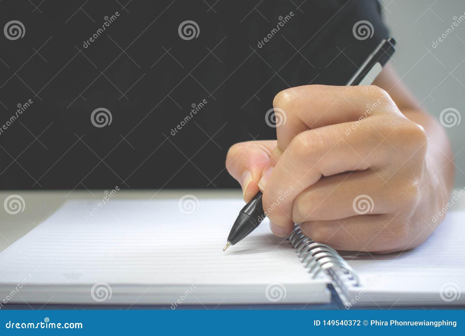 Clouse 写在笔记本的手笔