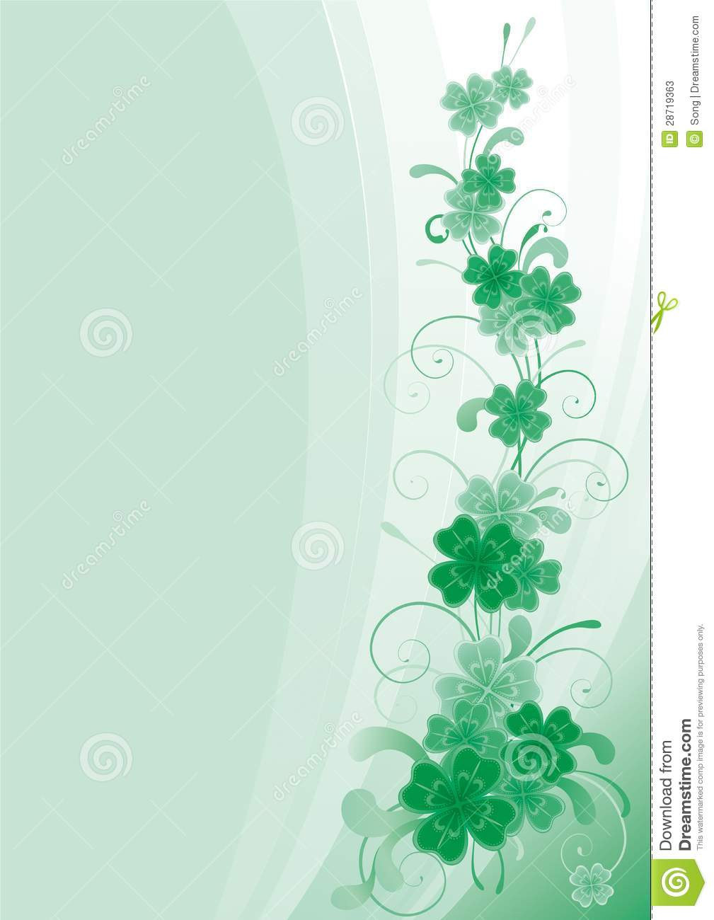 abstract st patrick theme - photo #26