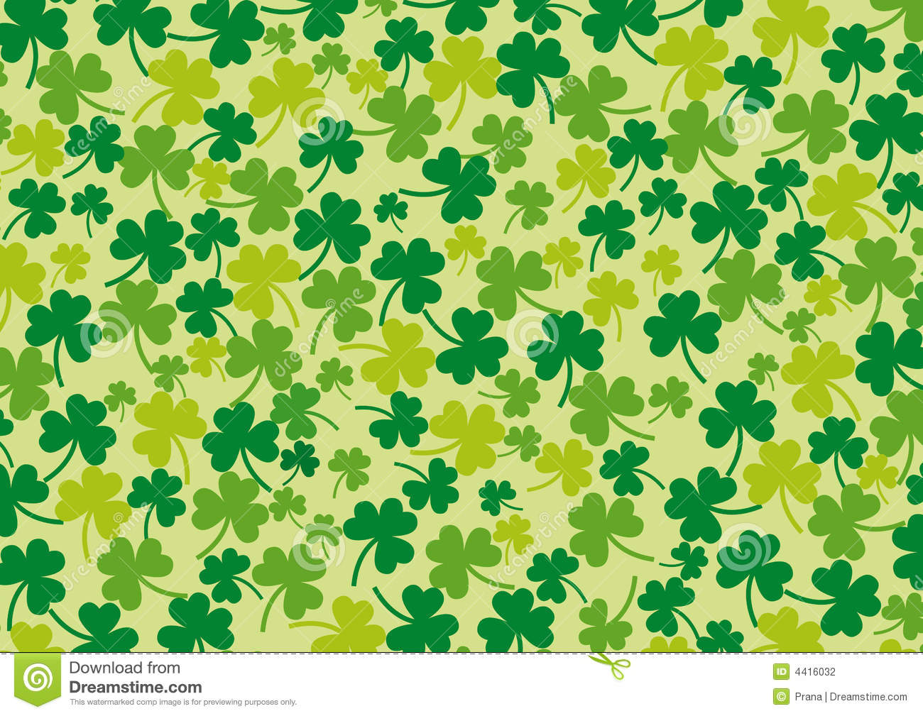 Clover Background. Stock Photography - Image: 4416032