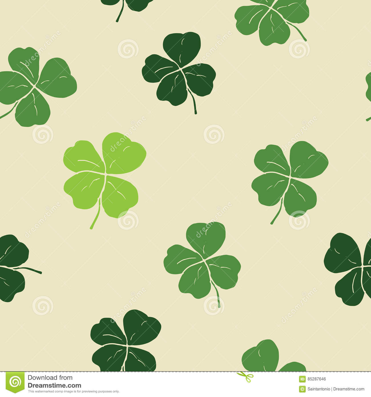 irish shamrock clover background stock image image 5532851