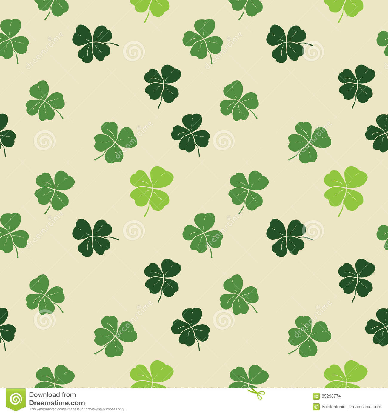 shamrock pattern wallpaper 1366x768 - photo #16