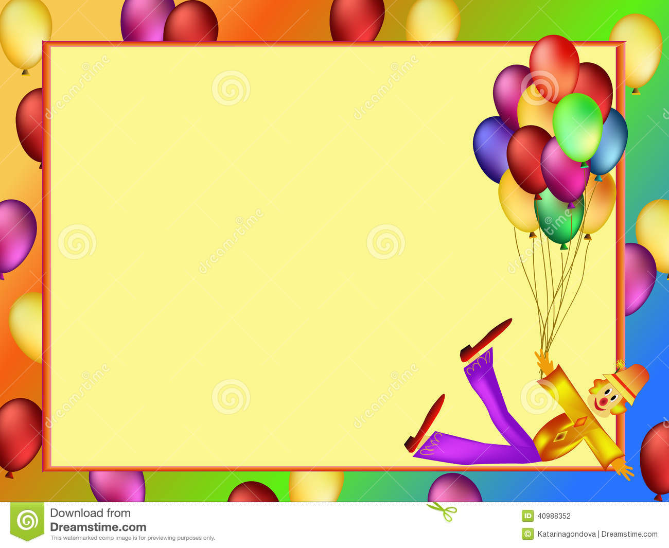 clip art clowns with balloons - photo #49