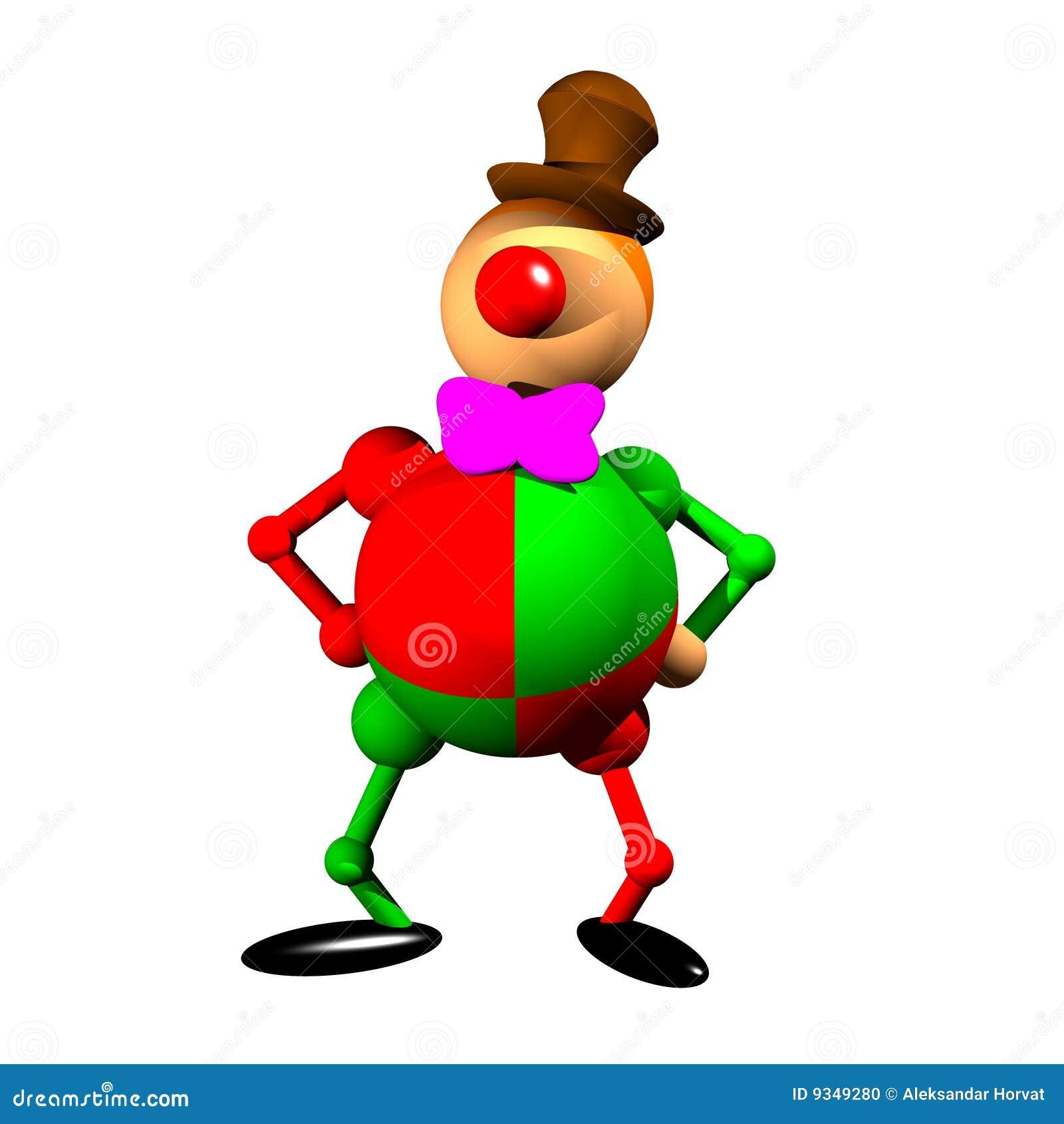 Clown Clipart Stock Abbildung Illustration Von Mann Gleichheit