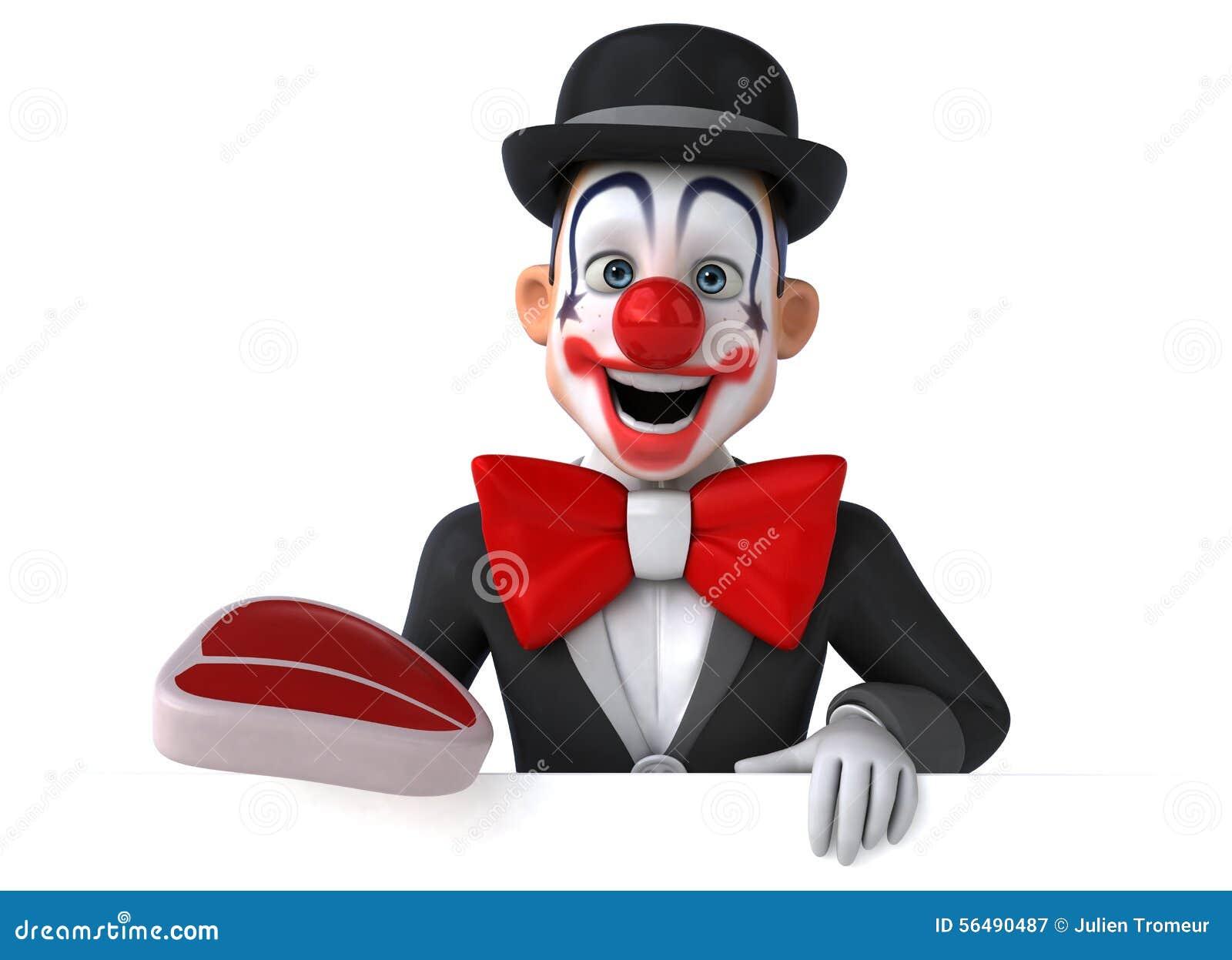 Clown d amusement