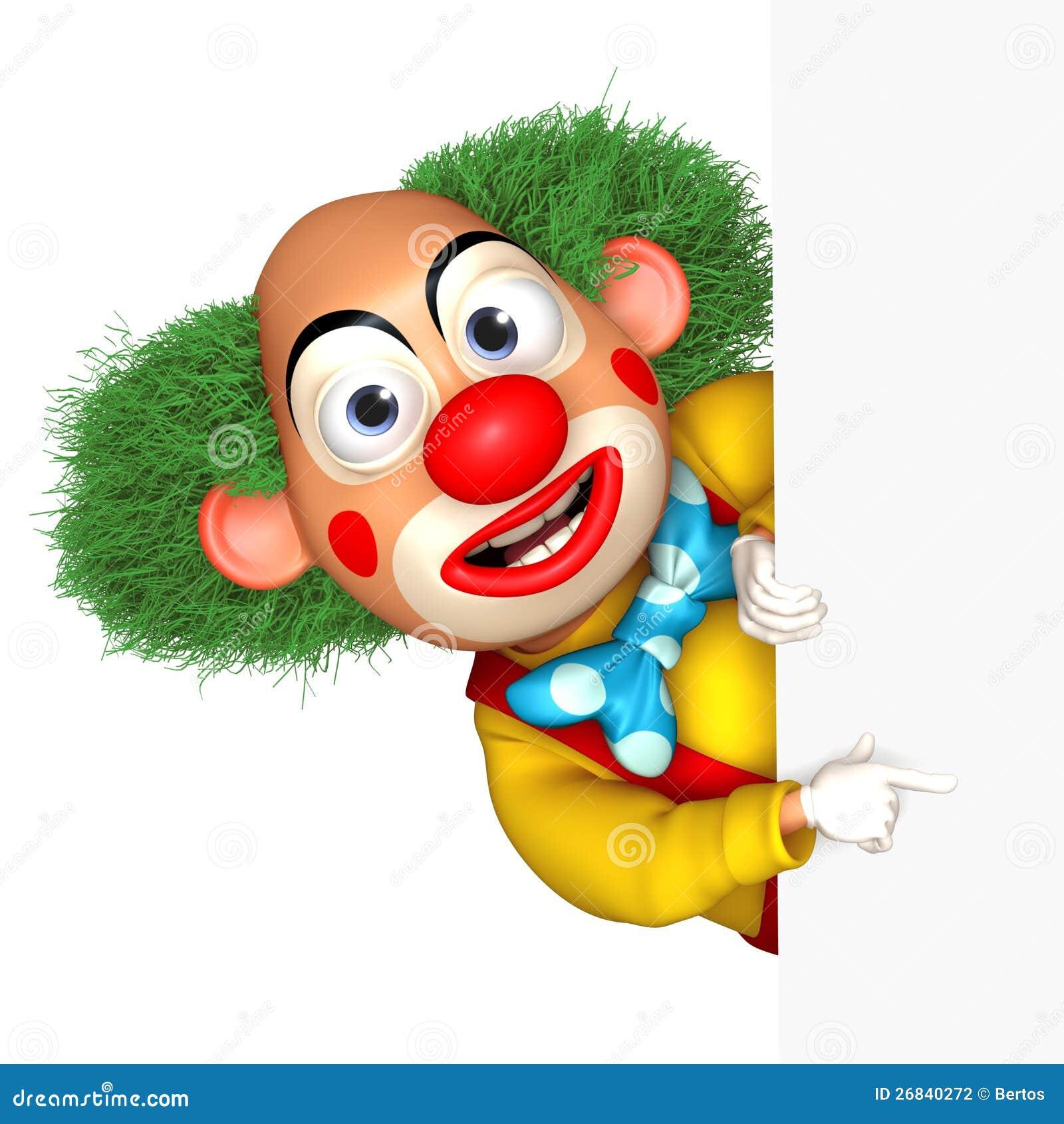 Dessin De Clown En Couleur clown de dessin animé illustration stock. illustration du couleurs