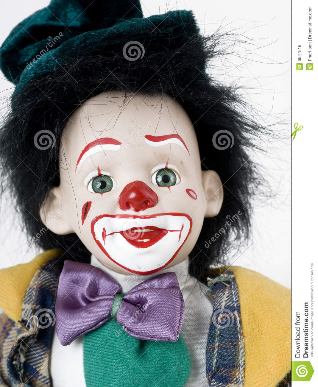 Clown Face Royalty Free Stock Image - Image: 6527516