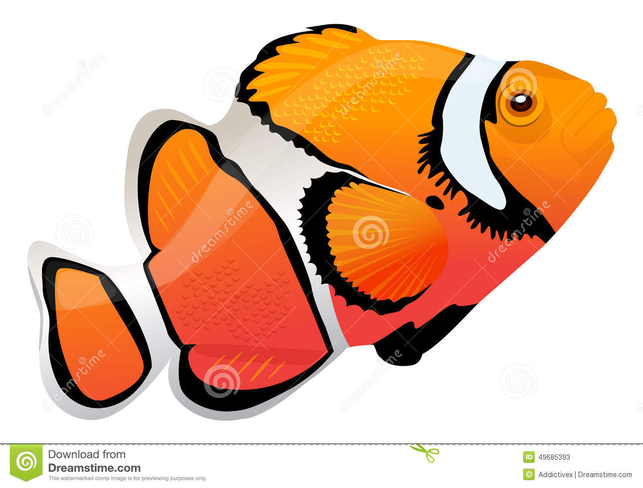 Clown Fish Stock Illustrations – 1,953 Clown Fish Stock ...