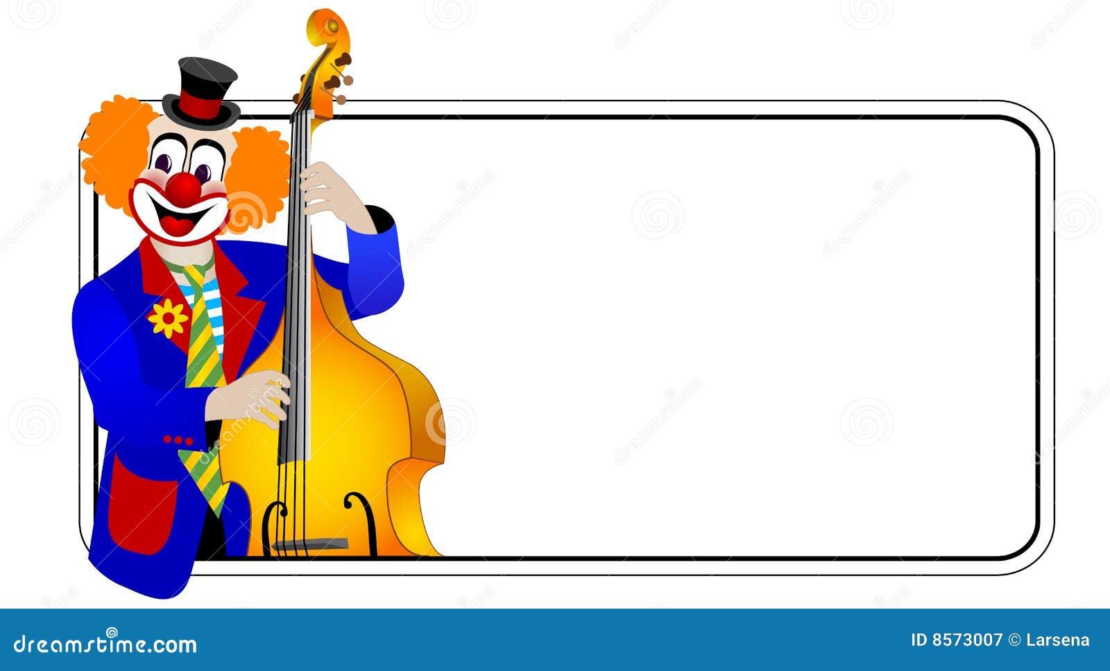 Clown il bassista del contra