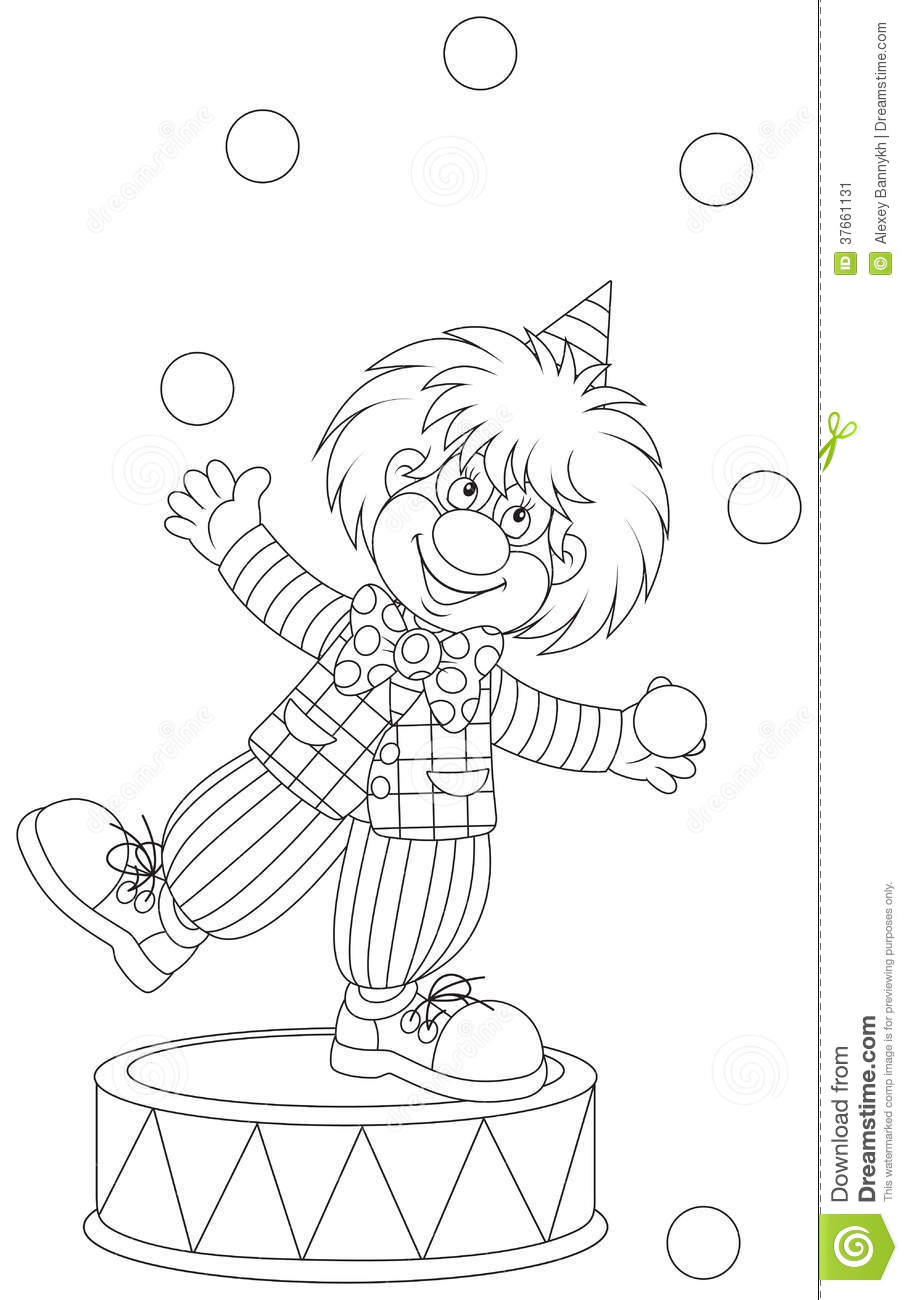 thanksgiving coloring pages funny clowns - photo#17